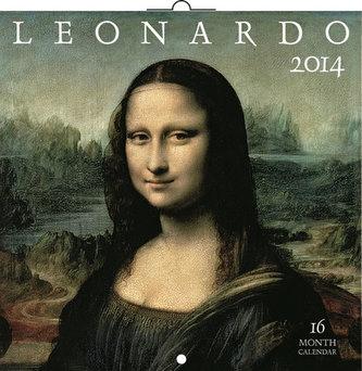 Kalendář 2014 - Leonardo da Vinci - nástěnný poznámkový (ANG, NĚM, FRA, ITA, ŠPA, HOL)