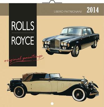 Kalendář 2014 - Rolls-Royce Libero Patrignani - nástěnný poznámkový (ANG, NĚM, FRA, ITA, ŠPA, HOL)