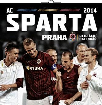 Kalendář 2014 - AC Sparta Praha - nástěnný poznámkový