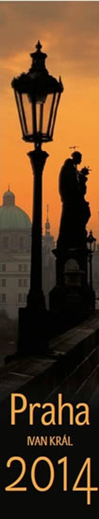 Kalendář 2014 - Praha vázanka