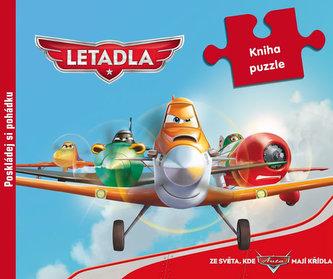 Letadla - 9 dílná kniha puzzle