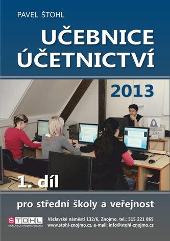 Učebnice Účetnictví I. díl 2013