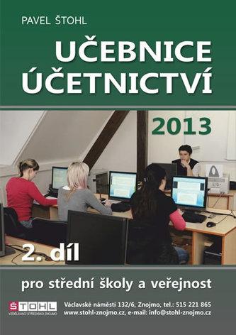 Učebnice Účetnictví II. díl 2013