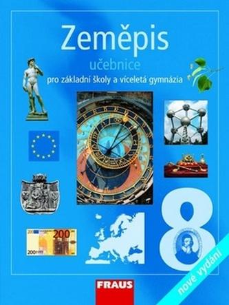 Zeměpis 8 pro ZŠ a vícel.gymn.-učebnice