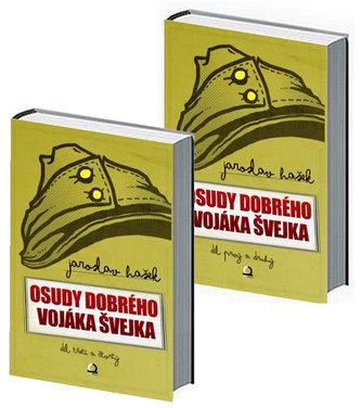 Osudy dobrého vojáka Švejka - komplet 2 knihy (4 díly)
