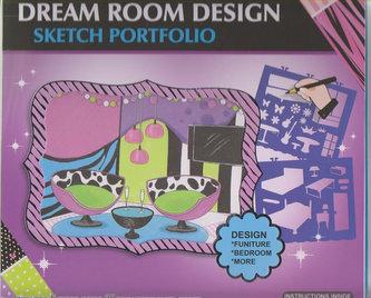 Fashion Girl kreativní skicák - Interiérový design