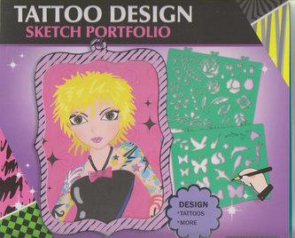 Fashion Girl kreativní skicák - Návrhy tetování