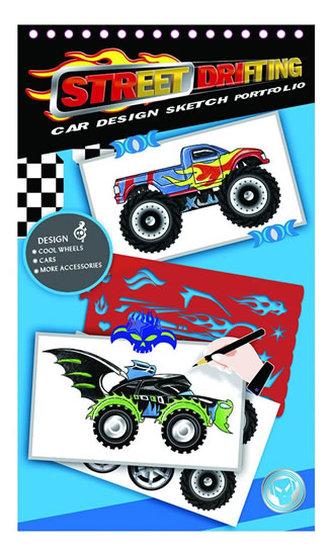 Kreativní skicák - Návrhy automobilů