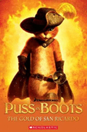 Popcorn ELT Readers 3: Puss in Boots - The Gold of San Ricardo with CD
