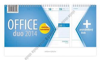 Kalendář 2014 - Office duo - stolní