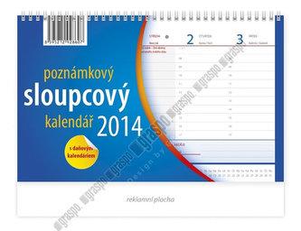 Kalendář 2014 - Poznámkový sloupcový - stolní
