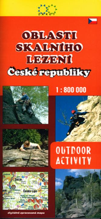 Oblasti skalního lezení České republiky
