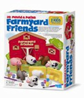 Sádrové odlitky - Zvířata z farmy