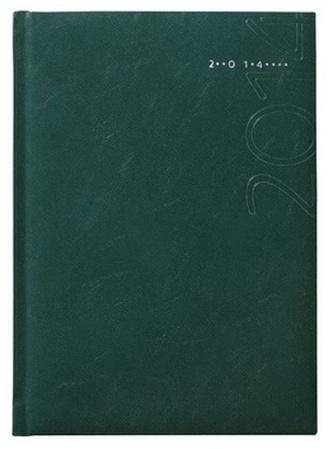 Diář 2014 - Kronos zelený - denní A5