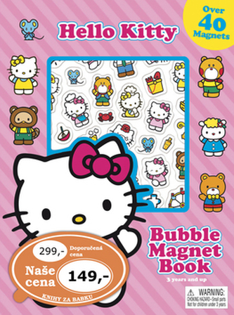 Hello Kitty Hraj si s magnety - neuveden