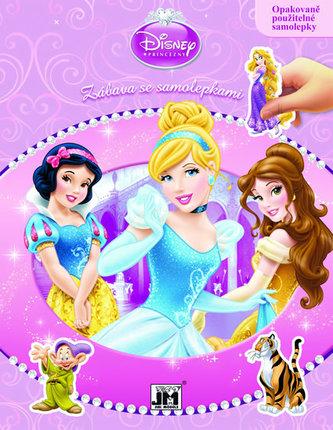 Princezny - Zábava se samolepkami