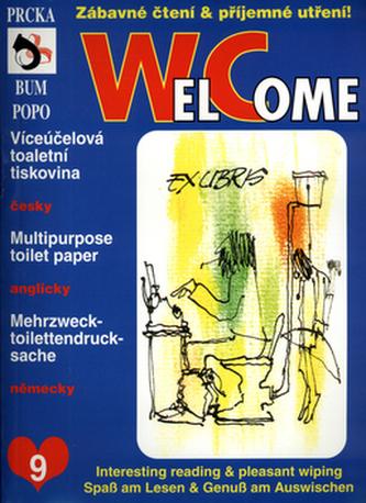 WelCome 9 - Zábavné čtení & příjemné utření! (česky, anglicky, německy)