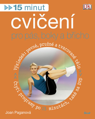 15 minut cvičení pro pás, boky a břicho + DVD