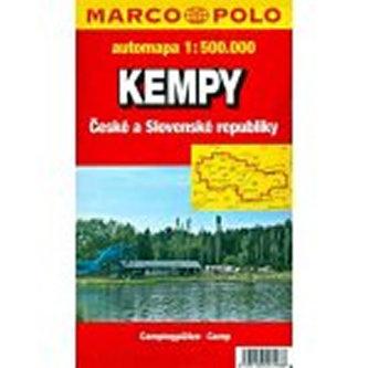 Kempy ČR a SR/mapa 1:500.000