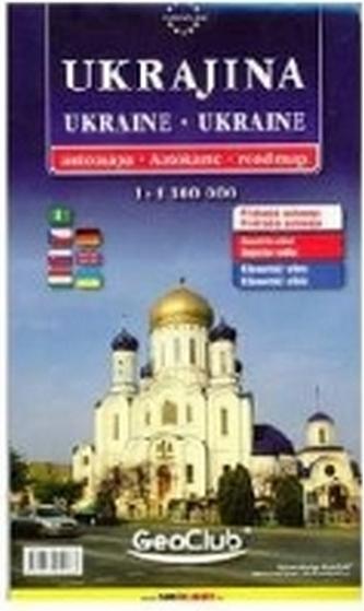 Ukrajina - automapa 1:1,1Mio