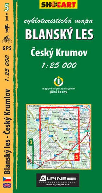Blanský les - cykloturistická mapa č. 5 /1:25 000