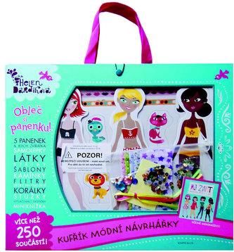 Obleč si panenku! Kufřík módní návrhářky