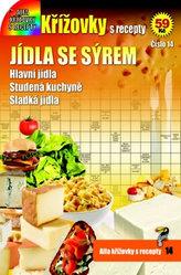 Křížovky s recepty 14 - Jídla se sýrem