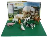 Hrátky na dvorku + 8 plastových zvířátek v krabičce