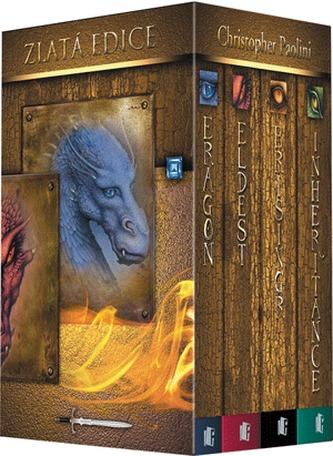 Odkaz Dračích jezdců – komplet 4 knihy (Eragon, Eldest, Brisingr, Inheritance)