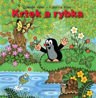 Krtek a rybka - leporelo - Miler Zdeněk, Milerová Kateřina