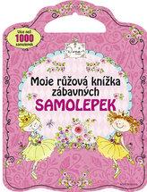 Moje růžová knížka zábavných samolepek