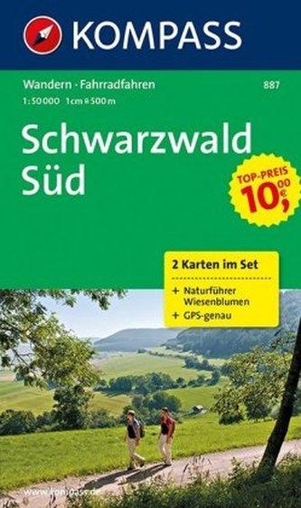 Schwarzwald Süd 2set  887   NKOM