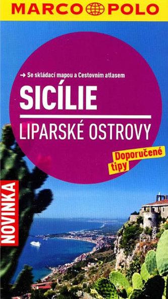 Sicílie/cestovní průvodce s mapou MD - neuveden