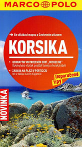 Korsika/cestovní průvodce s mapou   MD