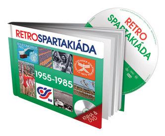 Retro Spartakiáda 50.-80. léta - DVD + kniha - neuveden