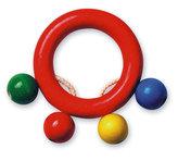 Kroužek do ruky - kuličky - barevný