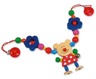 Řetěz do kočárku - medvěd