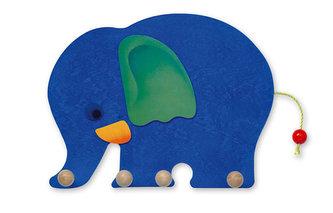 Věšák slon - 4 háčky