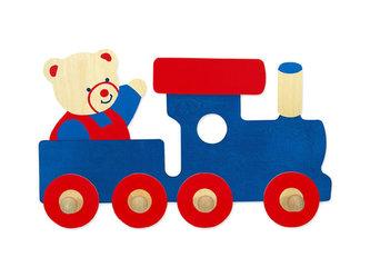 Věšák vlak - 4 háčky