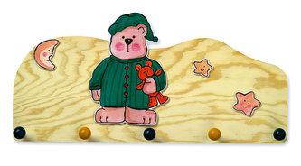 Vašák medvěd v zeleném pyžamu - natur