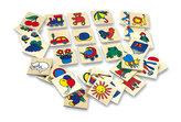 Dřevěné obrázky, značky pro školky - 32 obrázků