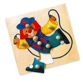 Puzzle - klaun - MAXI úchytky