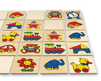Pexeso - dřevěné kartičky
