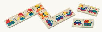 Domino - hračky - v papírovém kartonu 1 - BINO