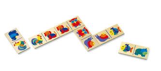 Domino - zvířata - v papírovém kartonu