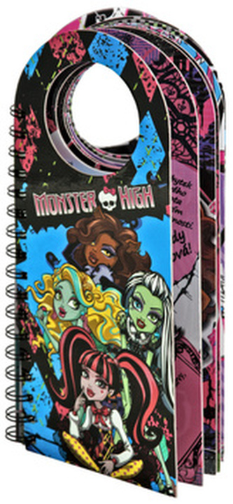 Monster High - Monstrózní visačky na dveře