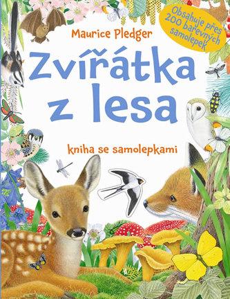 Zvířátka z lesa - kniha se samolepkami