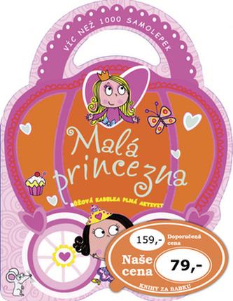 Malá princezna - růžová kableka plná aktivit
