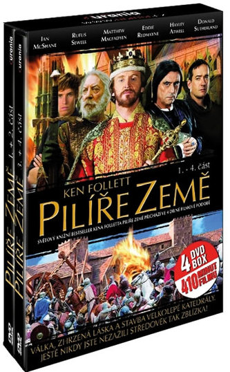 Pilíře země 1.- 4. část 4 DVD