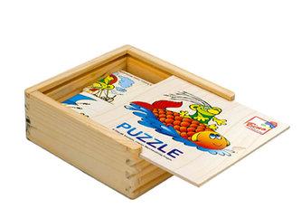 Rákosníček - minipuzzle, 16 ks
